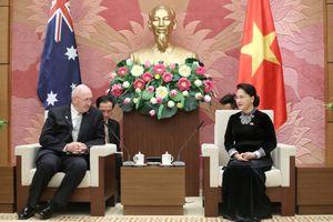Chủ tịch Quốc hội Nguyễn Thị Kim Ngân tiếp Toàn quyền Australia Peter Cosgrove