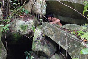 Những hang động huyền bí ở Thất Sơn: Hang Mãng xà