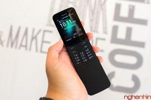 Đánh giá Nokia 8110 4G: thiết kế hoài cổ, phát Wi-Fi từ sim 4G khá tốt
