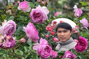 Vườn hồng gây thương nhớ của chàng 8X quyết định bỏ công việc nhà nước vì yêu hồng
