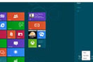 Tắt máy tính trong Windows 8