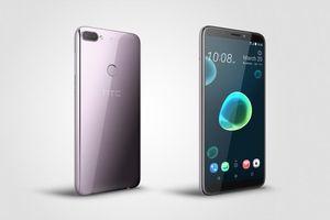 HTC Desire 12 plus: Thiết kế bề mặt chất lỏng, camera kép giá hợp lý