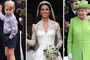 Những quy định ăn mặc nghiêm ngặt trong Hoàng gia Anh