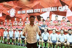 'Dập' tin giải thể, CLB TP.HCM ra mắt tân Chủ tịch Hữu Thắng