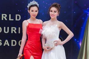 Á Hậu Thanh Trang khoe sắc rạng rỡ cùng Hoa hậu Thư Dung