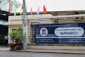 Công ty Sapharco bị phạt vì bán thuốc cao hơn giá kê khai