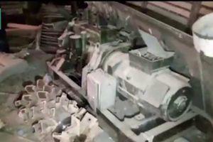 Clip: Quân đội Syria phát hiện máy đào hầm ngầm của IS