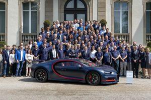 Chiếc Bugatti Chiron thứ 100 xuất xưởng, giá 3,3 triệu USD
