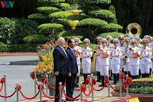 Ngày đầu tiên Toàn quyền Australia thăm cấp Nhà nước tới Việt Nam