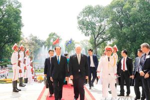 Toàn quyền Australia kết thúc chuyến thăm cấp Nhà nước tới Việt Nam