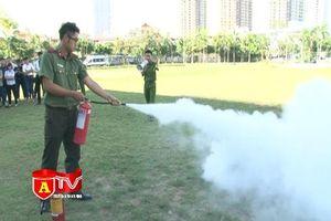 Tập huấn công tác phòng chống cháy nổ, an toàn vệ sinh lao động cho đoàn viên công đoàn