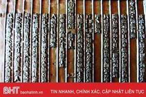 Tiếp nhận thêm 2 mộc bản quý hiếm về Đại thi hào Nguyễn Du