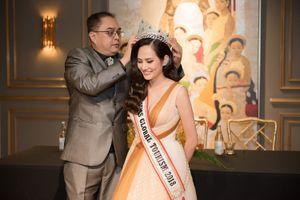 BTC Miss Global Tourism sang Việt Nam khắc phục vụ quên vương miện cho Diệu Linh
