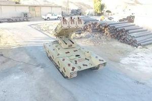 Video cận cảnh Syria dùng Hệ thống Golan-1000 tấn công IS