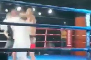 Cao thủ Võ Đang bị võ sĩ MMA nghiệp dư đấm bất tỉnh