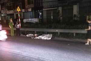 Trèo qua dải phân cách để sang đường, người đàn ông bị tàu hỏa tông tử vong