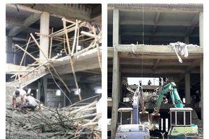 Nam Định: Sập giàn giáo công trình, 1 người tử vong
