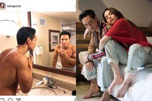 Hồ Ngọc Hà công khai khoảnh khắc nhạy cảm trong phòng tắm của Kim Lý