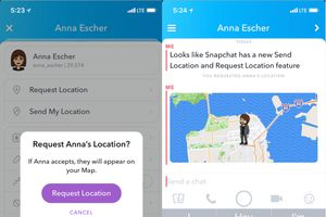 Người dùng Snapchat đã có thể ẩn vị trí hiện tại