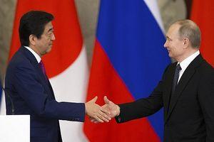 Tổng thống Nga Putin và Thủ tướng Nhật Bản Abe gọi video ra ngoài vũ trụ