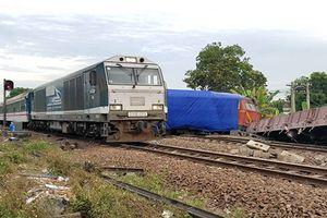 Đường sắt Bắc Nam thông tuyến trở lại sau vụ 2 tàu hỏa tông nhau ở Quảng Nam