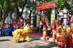 Khai mạc lễ hội kỷ niệm 590 năm ngày Vua Lê Thái Tổ đăng quang