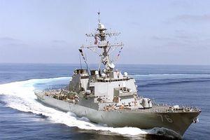 Mỹ điều chiến hạm vào vùng 12 hải lý các đảo ở Hoàng Sa