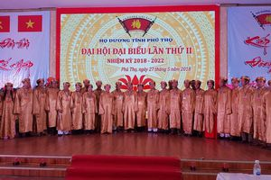 Đại hội đại biểu Họ Dương tỉnh Phú Thọ nhiệm kỳ 2018 - 2022