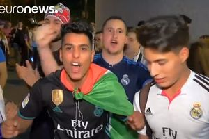 Hàng vạn CĐV Real 'trắng đêm' ăn mừng chức vô địch Champions League