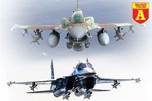 F-16I của Israel áp chế Su-34 Nga trong nháy mắt nếu xảy ra không chiến?