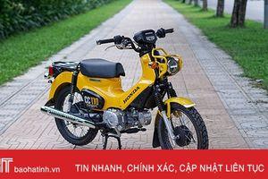 Xế 'độc' Honda Cross Cub 2018 đầu tiên về Việt Nam giá hơn 100 triệu