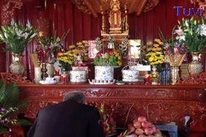 Sắp xếp bàn thờ gia tiên chuẩn nhất để cả đời bình an