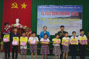 Kiên Giang: Phát động chương trình 'Đồng hành cùng phụ nữ biên cương' tại huyện An Biên