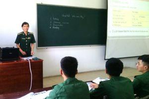 Để học viên Biên phòng thành thạo tiếng Anh chuyên ngành
