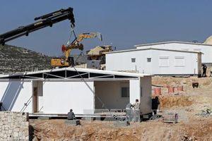 Israel phê chuẩn xây dựng trên 2.000 nhà định cư ở khu Bờ Tây
