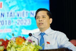 Bộ trưởng Nguyễn Văn Thể kỳ vọng BCH Công đoàn GTVT VN khóa X