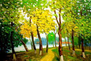 'Mùa hạ' trong hội họa