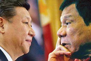 Phía sau tuyên bố đe chiến tranh với TQ của Tổng thống Philippines Duterte