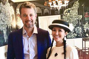 Hồng Nhung xinh đẹp dự sinh nhật hoàng thái tử Đan Mạch