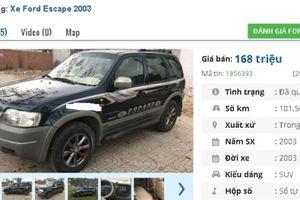 Những chiếc ô tô SUV cũ này đang rao bán tầm giá chỉ 100 triệu tại Việt Nam
