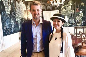 Hồng Nhung được mời dự tiệc sinh nhật của Hoàng thái tử Đan Mạch