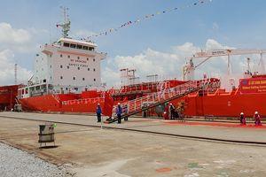 Hải Phòng: Bàn giao tàu trọng tải 6.500 tấn đầu tiên xuất khẩu sang Hàn Quốc