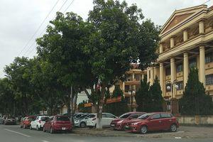 Nghệ An:Chiếm dụng vỉa hè trước trụ sở cơ quan, DN làm bãi đỗ xe