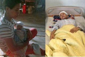 Mẹ đơn thân 22 tuổi bị xuất huyết não vẫn quyết liều mình sinh con