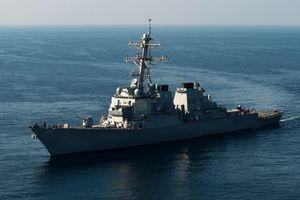 Việt Nam lên tiếng vụ tàu chiến Mỹ hoạt động ở Hoàng Sa