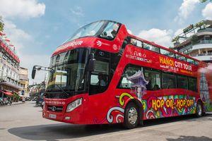 Video: Ngắm nhìn nét đẹp Hà Nội trên cung đường lăn bánh của xe buýt 2 tầng