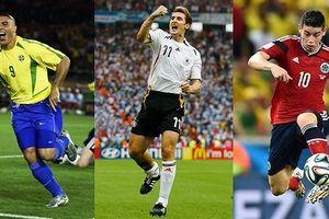 Điểm danh những 'Vua phá lưới' trong lịch sử 20 kỳ World Cup