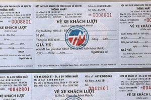 Dùng vé xe khách giả để trốn thuế, cơ quan quản lý ở đâu?
