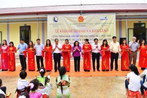 Cao Bằng: Vietcombank tài trợ 5 tỷ đồng kinh phí xây dựng nhà nội trú học sinh
