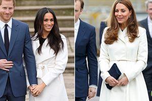 Gu thời trang giống nhau đến kinh ngạc của hai nàng dâu hoàng gia Anh